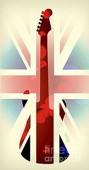 Guitar flag by Sebastien Coell