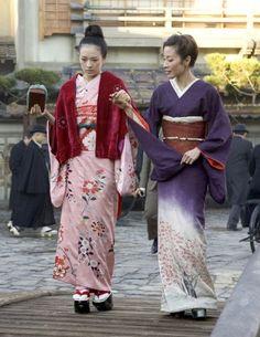 The Kimono Gallery Scene from Memoirs of a Geisha