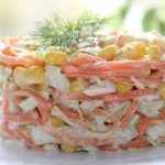 Salad with carrots in Korean style. – Cook and Bake with all family