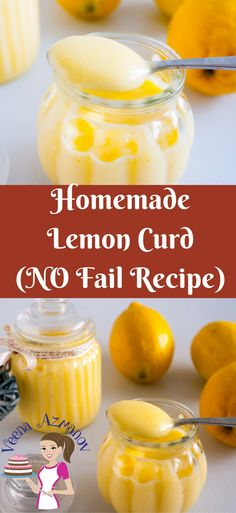 This no fail lemon curd recipe will give you the confidence you need to make fruit curd like never before. My step by step pictures, tips and trouble shooting will help you master the perfect lemon curd in just one attempt. This sweet, thick, tangy, cream Lemon Desserts, Easy Desserts, Delicious Desserts, Dessert Recipes, Yummy Food, Lemon Recipes Breakfast, Mousse, Lemond Curd, Panna Cotta