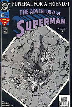 Adventures of Superman (1987 series) #498 3RD PRINT @ niftywarehouse.com