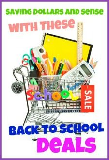 I'm curious how many of us have a set budget to spend on Back to School supplies? Save lots with htese back to school deals at savingdollarsandsense.com