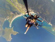 Turkey - An instructor snapped this astonishing photos of Lauren Newell as she completed the second...