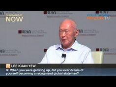 Lee Kuan Yew: Why Singapore has little entrepreneurial spirit (Pt 1) - YouTube