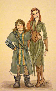 The+dwarf's+girlfriend+by+Dralamy.deviantart.com+on+@deviantART