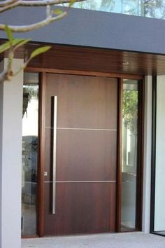 Beautiful Door Design Ideas For Inspiration Modern Entrance Door, Main Entrance Door Design, Modern Wooden Doors, Modern Exterior Doors, Modern Front Door, Entrance Ideas, Entry Doors, Home Door Design, Bedroom Door Design