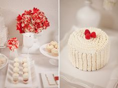 Love Is Sweet. A Dessert Table for 2 for Valentine's Day   Green Wedding Shoes Wedding Blog   Wedding Trends for Stylish + Creative Brides