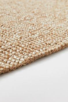 Thick Jute Rug - Beige melange - Home All Farmhouse Chic, Farmhouse Design, Gift Card Shop, Messy Room, Guest Room Office, H&m Home, Music Gifts, H&m Gifts, Jute Rug
