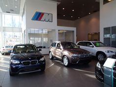 Cain BMW's showroom - Come in and check out our New BMWs!