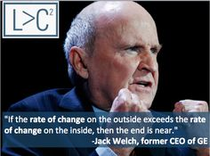 Great Jack Welch Quote on Learning and Competition