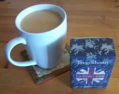 Trying Out Tregothnan's Classic Tea Great British, Tea, Mugs, Tableware, Classic, English People, Products, Derby, Dinnerware