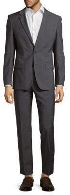 aaa1bab58 HUGO BOSS Halsey Merrill Wool Suit Modern Suits, Wool Suit, Wool Fabric,  Discount