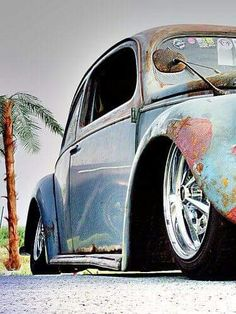 Southpoint Volkswagen serving Baton Rouge LA, New Orleans LA, Hammond, and Metairie LA. Ferdinand Porsche, Kdf Wagen, Hot Vw, Cool Bugs, Vw Vintage, Rusty Cars, Old Classic Cars, Vw Cars, Vw Camper