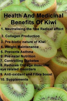Top 10 Health And Medicinal Benefits Of Kiwi