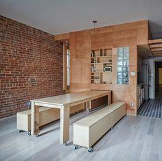 Peter Kostelov's renovation of an uptown Manhattan apartment