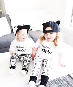 This listing is for one Bébé White - Matching Baby Shirt Fits a little big - If between sizes size down Material is super soft cotton Cotton Custom TMB Tag on Cuff Bebe Shirts, Mom Shirts, Toddler Boy Fashion, Kids Fashion, Baby Clothes Canada, Baby Brands, Monochrome Fashion, Stylish Baby, Matching Shirts