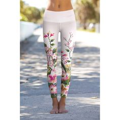 These eco-friendly printed leggings are made from the highest quality, most opaque, soft stretch fabric with excellent shape recovery. Our Lucy leggings fit perfectly on different body types, look vibrant and bold. They are perfect for daytime and workout wear (dance, gymnastics, gym, fitness, yoga, etc.). THE EXCLUSIVE PLACEMENT OF THE PRINT HIGHLIGHTS THE ORIGINALITY OF THE DESIGN Inspired by and made in Miami Beach, USAThanks for supporting US manufacturing! Care and Details - Full-length