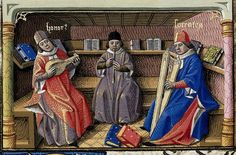 Musicians--lute, recorder and harp. France c1473-80.  Harley 4375. Brit Lib. by tony harrison, via Flickr