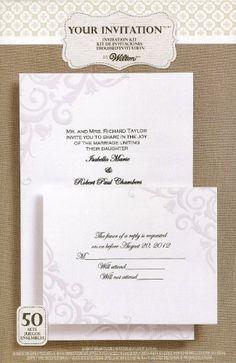 WILTON Lily Of The Valley Pearl INVITATION Kit 50-Count by Wilton, http://www.amazon.com/dp/B008RNAU5W/ref=cm_sw_r_pi_dp_k0Jyrb0F8SAXR