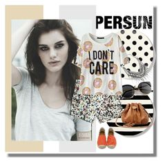 """""""PERSUN"""" by b-mila ❤ liked on Polyvore featuring Kate Spade"""