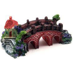 Just US$3.83, buy Aquarium Fish Tank Antique Resin Bridge Ornament online shopping at GearBest.com Mobile.