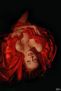 Desert Rose by Hollinger on DeviantArt Nirvana, Mode Glamour, Gorgeous Redhead, Red Butterfly, Rose Photography, Desert Rose, Shades Of Red, How To Fall Asleep, Color Splash