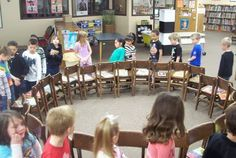 Musical Chairs...with Books! Could use when things are getting stale in the spring.