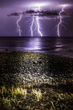 Nature at its most powerful   | thunderstorm | | nature | | amazingnature |  #nature #amazingnature  https://biopop.com/