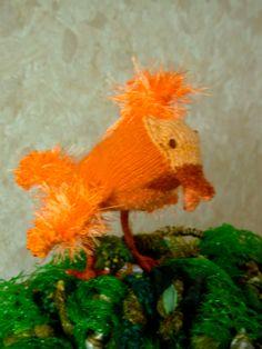 Detail: Een van de oranjevogels.