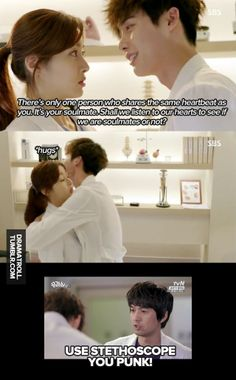 Kang So Ra and Lee Jong Suk in Doctor Strangers | Dramatroll