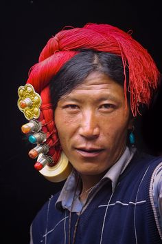 China | 'Khampa nomad' Between Litang and Xiangcheng | © Frans Devriese