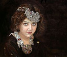 Children Portraits painted in Oil by Enzie Shahmiri Portraits and Fine Art