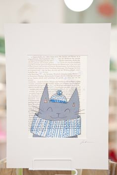 www.diebuntique.at Album, Form, Office Supplies, Notebook, Cat, Pear, Notebooks, Cat Breeds, The Notebook