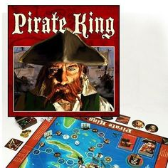 Pirate King Board Game for 2-4 Swashbucklers