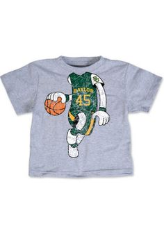 For the #FutureBear: #Baylor Basketball Player Toddler T-Shirt ($16 at Baylor Bookstore)