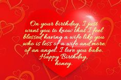 Birthday Wishes for Wife : Wife birthday images, messages and quotes Wife Birthday Quotes, Happy Birthday Honey, Best Happy Birthday Quotes, Birthday Wishes For Wife, Happy Birthday Wishes Images, Birthday Wishes Messages, Birthday Poems, Birthday Card Sayings, 25 Birthday