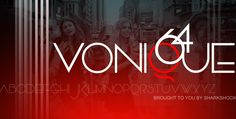 Chic. Stylish. Elegant. Vonique 64 is a luxurious display font perfect for logos, publishing, and branding. The free demo is for personal use only. Info on commercial licensing is available in the readme file.  #typography #fonts #sharkshock  #typography #fonts #sharkshock #luxury #fashion #style #newyork #london #paris