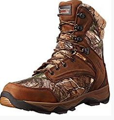 e8d3a6f76af42 Rocky Men's 8 Inch Retraction 800G Hunting Boot Leather and textile  Imported Synthetic sole Shaft measures