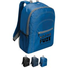 Chill By Flexi-Freeze (R) Backpack Cooler...Party on the go with our Chill by Flexi-Freeze (R) Backpack Cooler. This cooler is constructed with 420 denier polyester and features an accent stitching design. Effectively keep your drinks or food cool with four sheets of removable cubes. With enough room for sixteen 12 oz. cans, this backpack also features space for snacks with the zippered front and side mesh pockets. Printed with your logo, this backpack will offer your brand visibility.