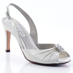 Mansfield Vintage Wedding Shoes - Benjamin Adams