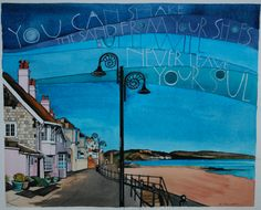 Lyme Regis pictures « Sam Cannon Art