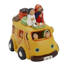 Peruvian Traveling Bus Nativity (Ten Thousand Villages)