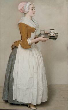 Jean-Etienne Liotard - The Chocolate Girl