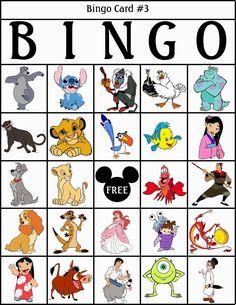 Disney Characters Bingo, to Print Free. Disney Activities, Disney Games, Disney Theme, Disney Diy, Disney Crafts, Disney Love, Disney Sidekicks, Disney Cartoon Characters, Disney Cartoons