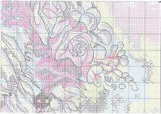 Схема вышивки Woman With Bouquet (Dimensions) 6 из 8