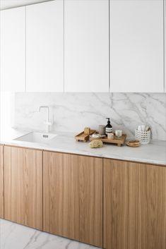 Kitchen Room Design, Modern Kitchen Design, Kitchen Interior, Home Interior Design, Kitchen Decor, Interior Decorating, Classic Kitchen, New Kitchen, Utility Room Designs