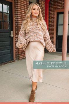 Maternity Sweater Dress, Casual Maternity Outfits, Maternity Work Clothes, Maternity Fashion Dresses, Stylish Maternity, Maternity Wear, Maternity Winter Dresses, Winter Maternity Fashion, Maternity Skirts