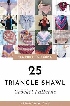 Crochet Round, Crochet Lace, Free Crochet, Crochet Cowls, Shawl Patterns, Crochet Patterns, Crochet Triangle Scarf, Crochet Shawls And Wraps, Wrap Pattern