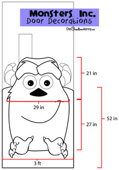 Halloween classroom door decoration Monsters Inc. ideas Halloween classroom door decoration Monsters Inc. ideas Always aspired to learn how to knit, nonetheless unclear the pla. Halloween Classroom Door, Disney Classroom, Classroom Themes, School Door Decorations, Halloween Door Decorations, Trendy Halloween, Diy Halloween, Halloween Scene, Sully