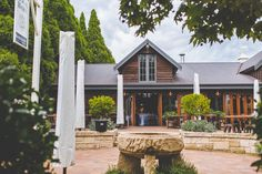 Outside the book barn at Bendooley Estate, Southern Highlands | Photo credit: Holly Prins - @hollyprins